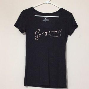 Victoria's Secret swoop neck T-shirt